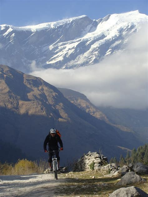 mini mustang mountain bike   nepal himalayas