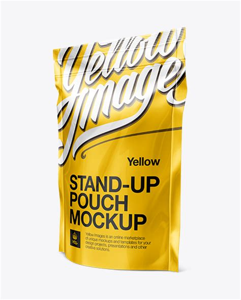 Best free packaging mockups from the trusted websites. Stand Up Pouch with Zipper Mockup - 3/4 View in Pouch ...