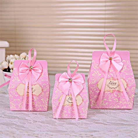 Pcs Pinkdy Boparty Favors Wedding Box Sweets