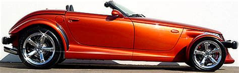 Chrysler Plymouth Prowler Photos & Pictures of Orange Prowler