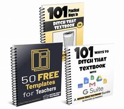 Ebooks Classroom Kahoot Quizizz Three Ditch Textbook