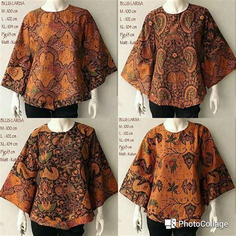 blouse larisa atasan baju wanita best 25 model baju batik ideas on modern