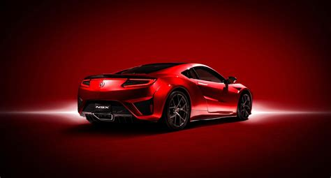 acura releases  technical details   super cool nsx