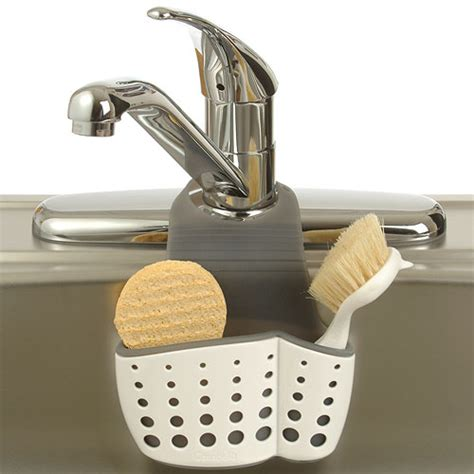 sponge caddy for sink adjustable sink organizer sponge caddy organization store