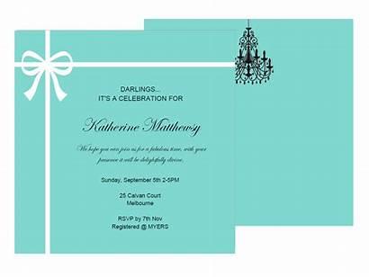 Tiffany Shower Editable Bridal Invitations Invitation Birthday