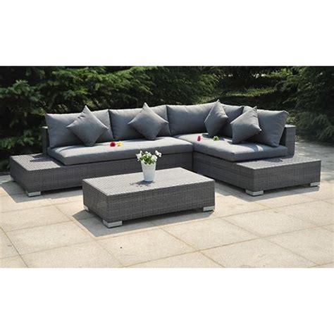 divano vimini divano in vimini per giardino