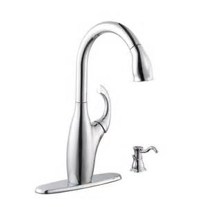 kitchen faucet with pull sprayer schon 65710n b8401 contemporary pull sprayer kitchen faucet chrome ebay