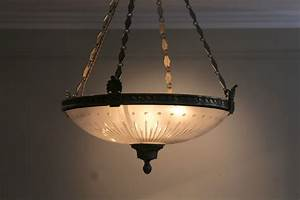 Fine Quality 19th Century Ceiling Light