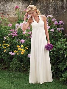 simple empire waist halter wedding dress sang maestro With simple halter wedding dress