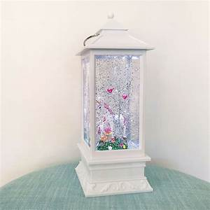 NEW LED Glitter Lantern Mother Baby Unicorn Night Light