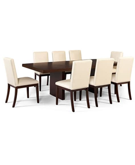 corso dining room furniture 9 piece set table and 8