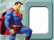 Molduras PNG Personagens 600px superhomem