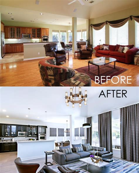 home design before and after before and after contour interior design
