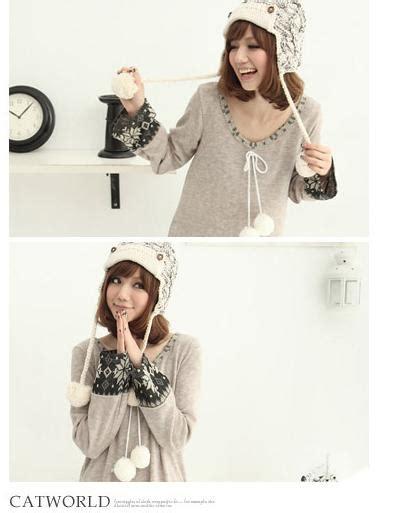 colorfullife jl korea winter style knitted dress