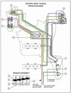 Deluxe Jaguar Bass Wiring Diagram