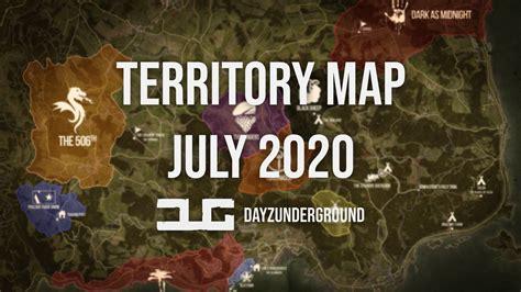 dug territory  poi map july  dayzunderground