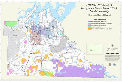 thurston geodata center custom map examples