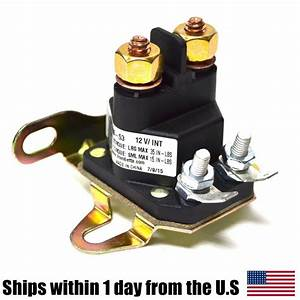 Relay Solenoid For Western Fisher Meyers Snowplows
