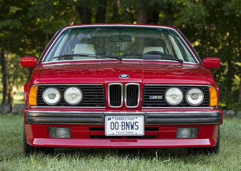 Bmw E24 M6 by 1988 Bmw E24 M6 A Monterey M Record Turtle Garage