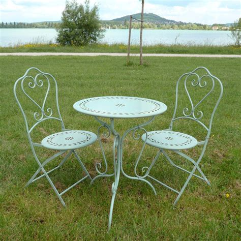 table et chaise bistrot wrought iron garden furniture tables chairs benches