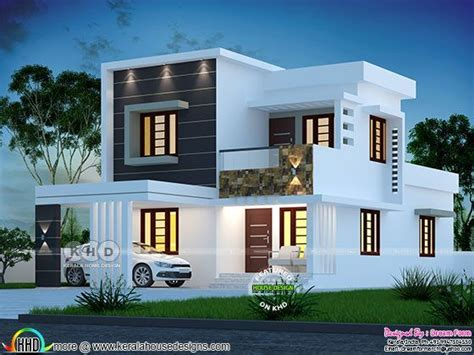 sq ft bedroom modern house plan kerala house design duplex house design bungalow