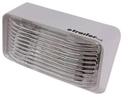 rv rectangular porch  utility light clear optronics