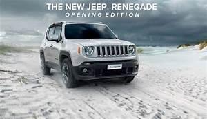 Nouvelle Jeep Renegade : jeep renegade opening edition elle va ouvrir la voie blog automobile ~ Medecine-chirurgie-esthetiques.com Avis de Voitures