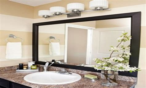 high  bathroom mirrors light fixture  bathroom