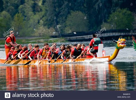 Dragon Boat Racing Olympia by Dragon Boat Race On Capitol Lake In Olympia Washington
