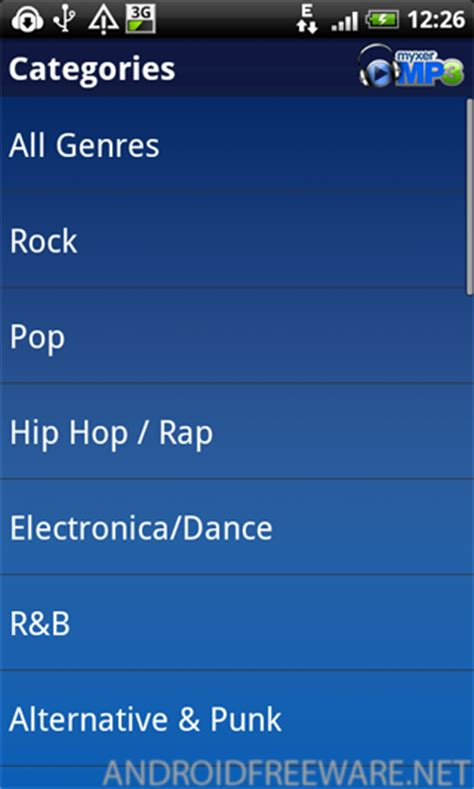 myxer free ringtones for android myxer mp3 free app android freeware