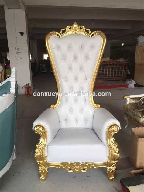 danxueya royal luxury wedding throne chairs for sale
