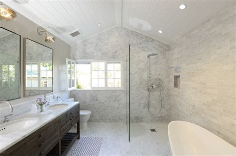 Elegant Bath Remodel Restores Home?s Cohesive Aesthetic
