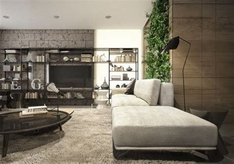 Interior Design To Nature Rich Wood Themes And Indoor Vertical Gardens by Interior Design To Nature Rich Wood Themes And