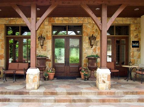 Country Front Porch by Hill Country Porch Hill Country Style Homes