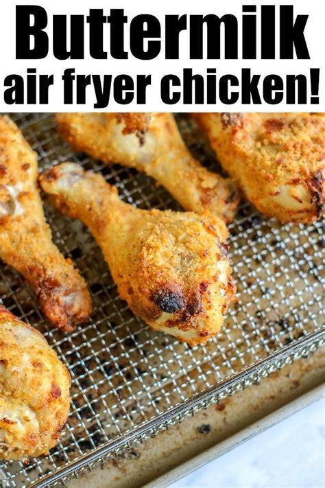 chicken fryer air legs crispy buttermilk fried temeculablogs copycat recipe kentucky recipes tender fry inside without cooking outside leg