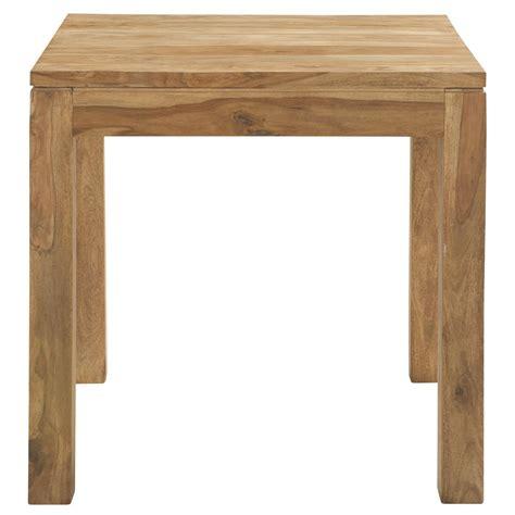 table de salle 224 manger en bois de sheesham massif l 80 cm stockholm maisons du monde