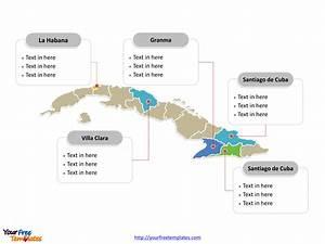 Free Cuba Powerpoint Map