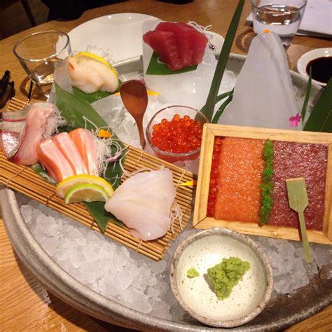 Sashimi platter at Masu - Auckland, NZ : sushi