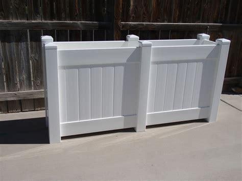 vinyl raised bed garden planter box  patio garden