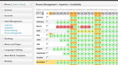Hotel Reservation System Template by Php Hotel Reservation System Screenshots Apphp