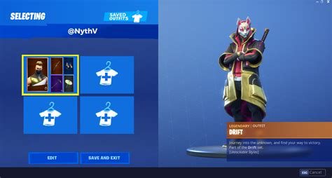 fortnite skins cosmetic combination saving concept
