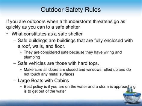 Boat Safety During Thunderstorm by Thunderstorm And Lightining