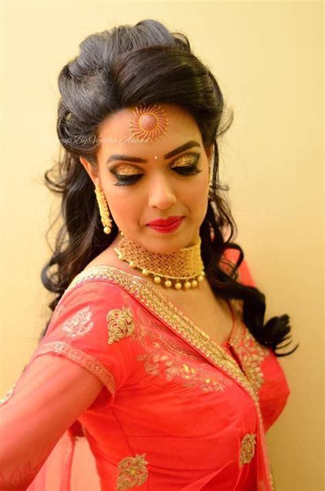 indian bridal makeup ideas  pinterest indian
