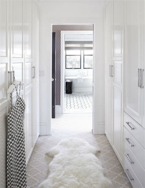 Bedroom Ensuite Wardrobe by Walk Through Wardrobe To En Suite Closets Shelves