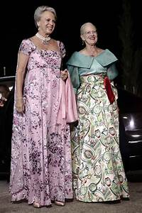Princess Benedikte and Queen Margrethe attended King ...