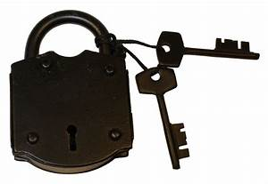 Skeleton Keys 4 Antique Style - Padlock