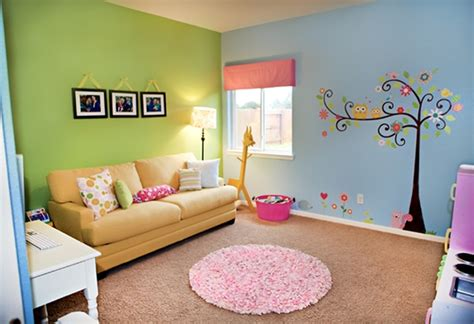 Perfect Kid's Playroom Design With Splashes Of Color