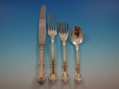silver birks sterling flatware canada laurentian pcs service