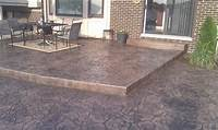 perfect patio design ideas concrete Perfect Concrete Patio Designs | Unique Hardscape Design