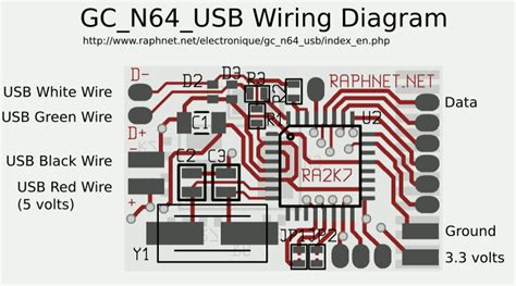N64 Controller Wiring Diagram by N64 Gamecube Controller To Usb Adapter